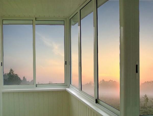 Раздвижные окна на лоджию provedal.