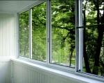 Алюминиевые раздвижные окна для лоджии
