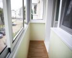 Алюминиевые раздвижные окна для балкона-1