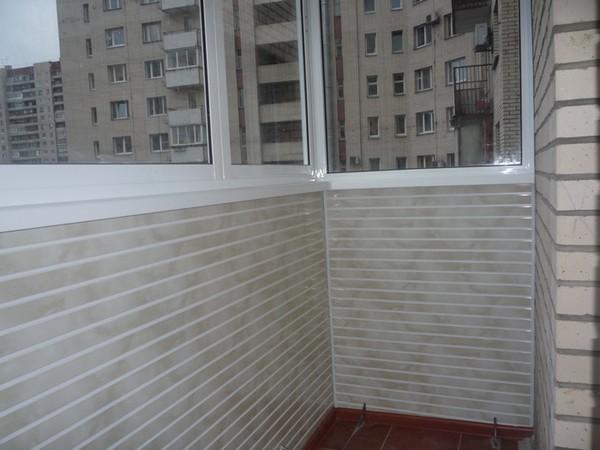 чем обшить балкон изнутри материалы фото