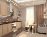 Выход на балкон с кухни