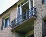Французские окна на балконе