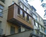 Как обшить балкон сайдингом-7-3