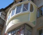 Как обшить балкон сайдингом-7-6