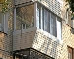 Как обшить балкон сайдингом-7-8