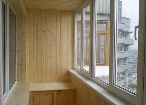 как балкон обшить вагонкой балкон своими руками видео