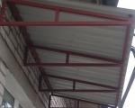 Крыша на балконе-4