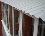 Крыша с балконом-1