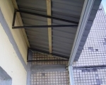 Крыша на балконе-2