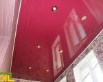 натяжной потолок на балконе-4