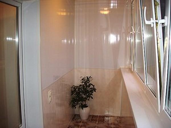 Фото отделка балкона панелями пвх своими руками