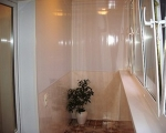 Обшивка балкона пластиковыми панелями-7-2