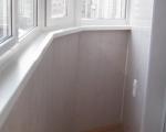Обшивка балкона пластиковыми панелями-7-5