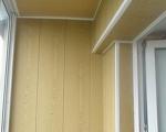 Обшивка балкона пластиковыми панелями-7-7