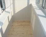 Обшивка балкона пластиковыми панелями-7-8