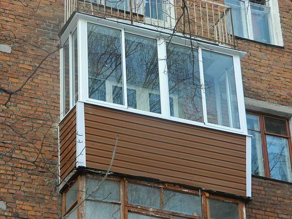 Внешняя отделка балкона своими руками, виды отделочных матер.