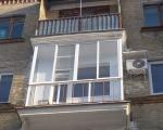 Панорамное остекление маленького балкона