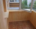 Отделка балкона плиткой-2