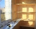 Полки на балкон-2