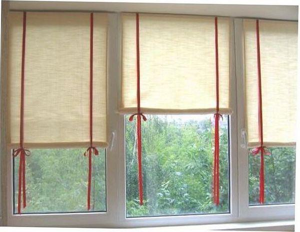 Римские шторы своими руками инструкции