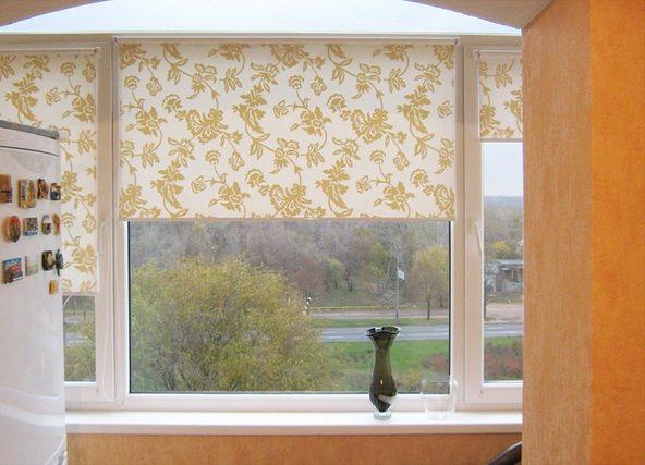 Как самому сделать рулонную штору на пластиковое окно 14