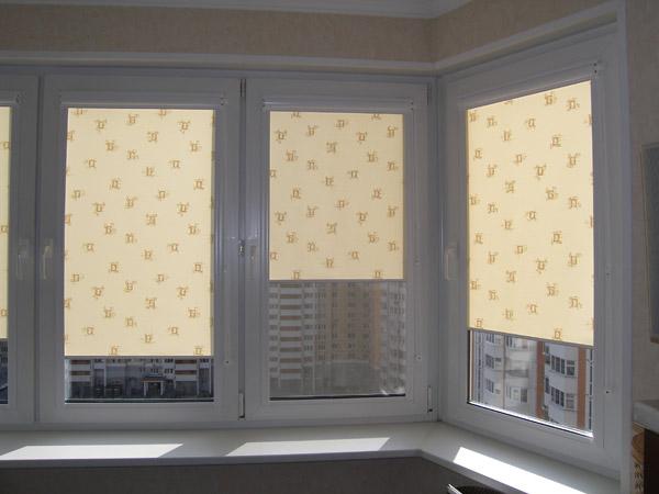 Как самому сделать рулонную штору на пластиковое окно 32