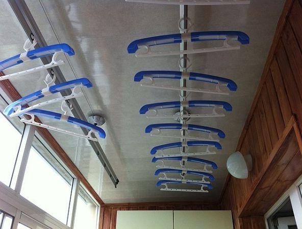 Сушка для белья на балкон: напольная, настенная, потолочная .