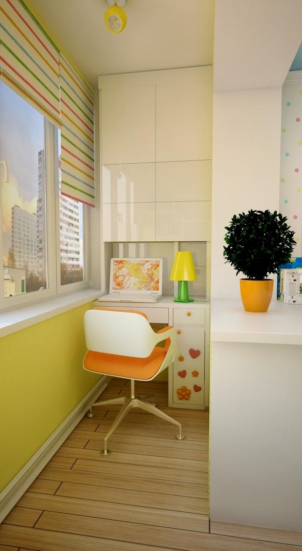 детская комната на лоджии