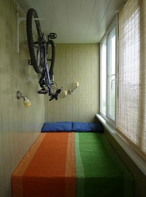 Как хранить велосипед зимой на балконе: правильная подготовка к хранению