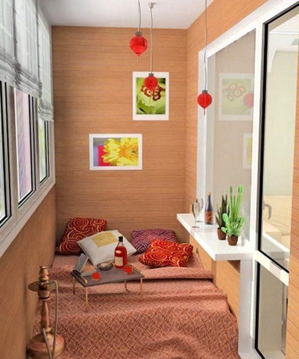 спальня на лоджии дизайн