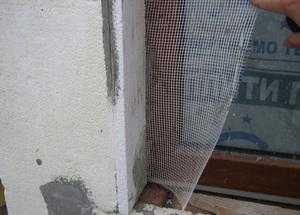 утепление откосов пенопластом снаружи