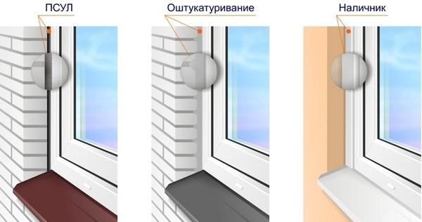 наличников на окна ПВХ