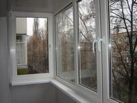 пластикове окна на балкон
