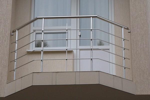 металлические ограждения балконов