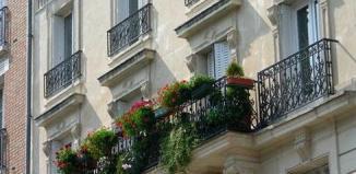 французский балкон дизайн