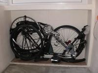 хранение велосипеда на балконе зимой