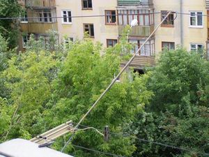 балконная антенна кв