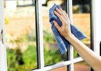 как помыть окна на лоджии снаружи