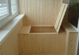 балконный погребок