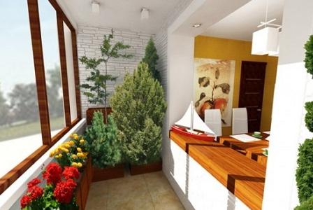 зимний сад дизайн