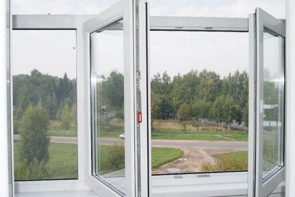пластиковое штульповое окно