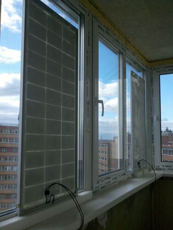 как сделать солнечную батарею для балкона
