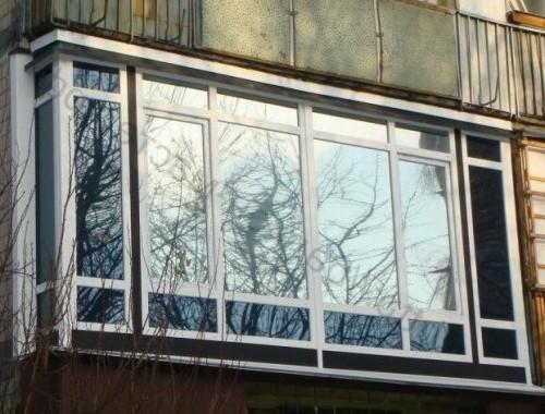 затонировать окна на балконе