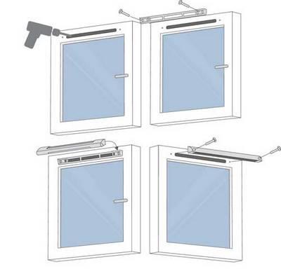 пластиковые окна с вентиляцией