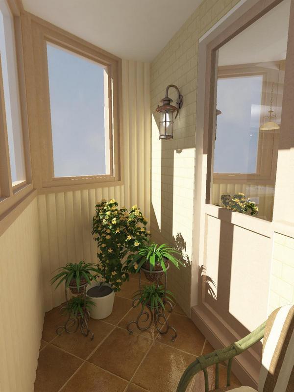 балкон прованс