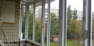 расширение балконов