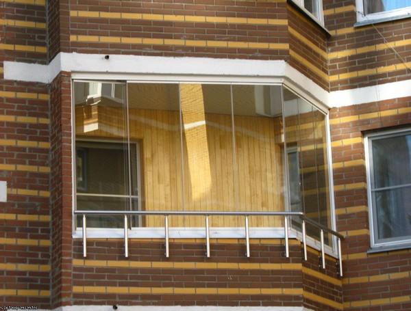как самостоятельно остеклить балкон