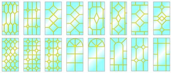 окна пластиковые с раскладкой