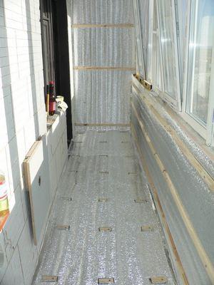 материал для утепления балкона