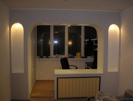 балконный проем фото дизайн